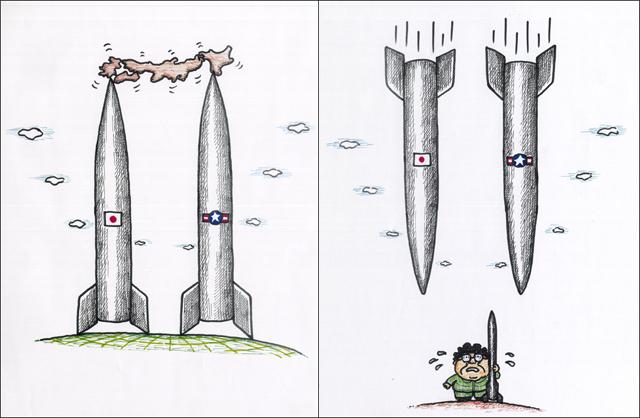 橋本勝の21世紀風刺絵日記:第5回:日本を本当に守る気があるのなら
