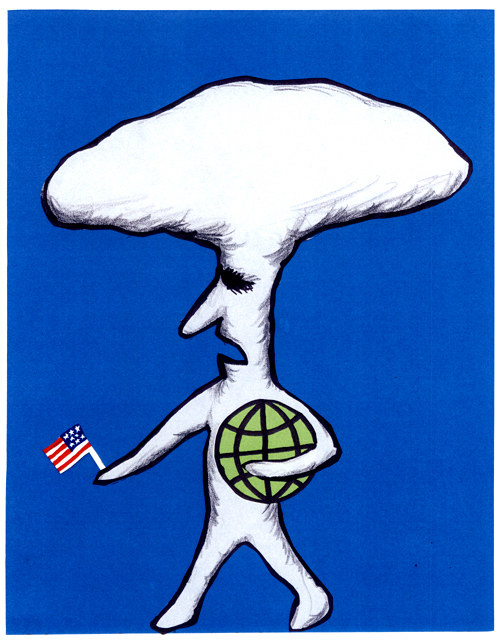 橋本勝の21世紀風刺絵日記:第22回:「核抑止力」という言葉を死語にしよう