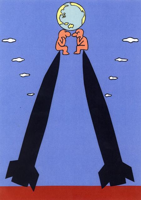 橋本勝の21世紀風刺絵日記:第52回:21世紀、世界はまた新冷戦時代に突入した