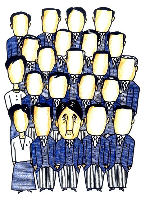 橋本勝の21世紀風刺絵日記:第60回:人心一新チャレンジ内閣、そして誰もいなくなった
