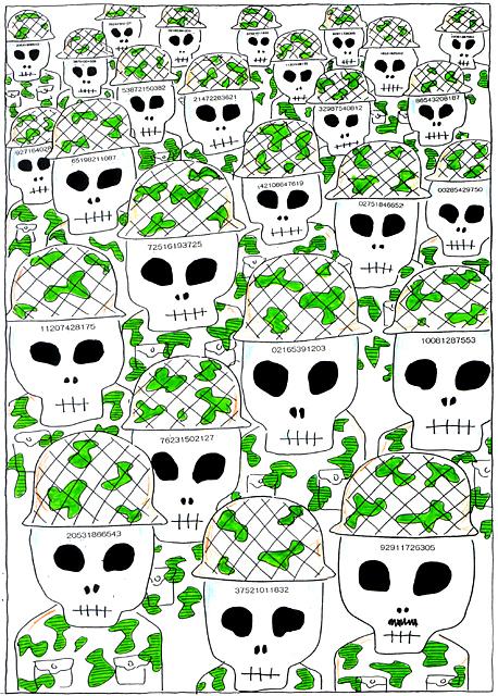 橋本勝の21世紀風刺絵日記:第64回:ヒゲの隊長の巻き込まれ作戦大成功!