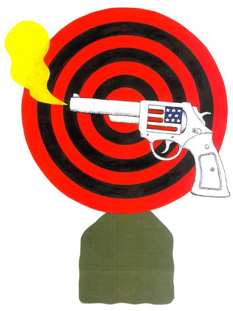 橋本勝の21世紀風刺絵日記:第81回:暗殺つき民主主義はいかが!?