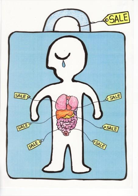 橋本勝の21世紀風刺絵日記:147回 子どもの命と体でひと儲け