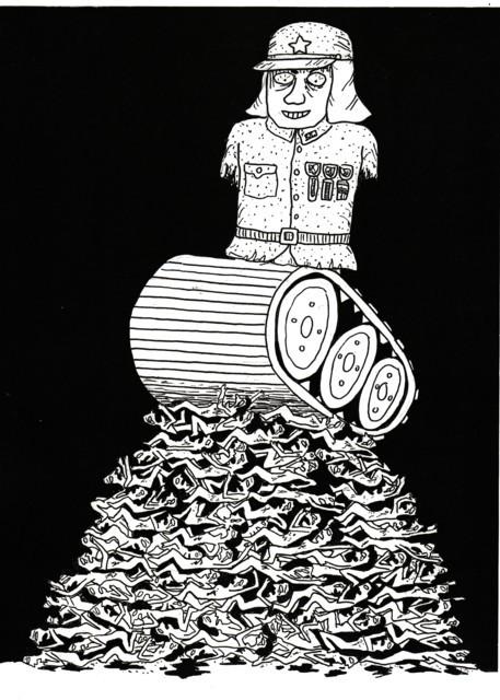 橋本勝の21世紀風刺絵日記:162回 戦争と性をえぐって衝撃的!!映画『キャタピラー』は必見である