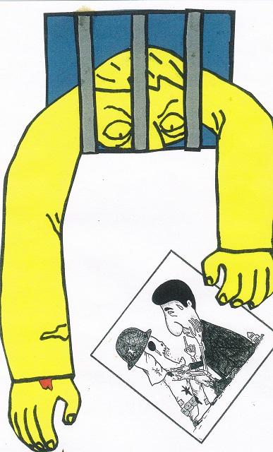 橋本勝の21世紀風刺絵日記:282回  総理を侮辱してこそ風刺画である
