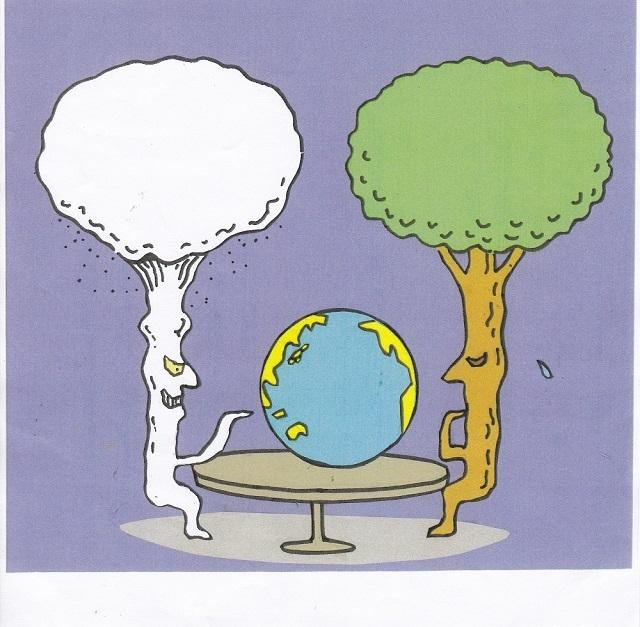 橋本勝の21世紀風刺絵日記:342回 地球憲法はいかなる審判を